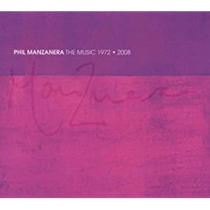 Phil Manzanera - The Music 1972-2008 (2 CD + 1 DVD)