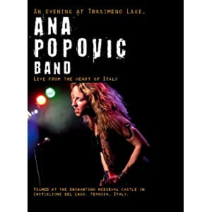 Ana Popovic Band - An Evening at Trasimeno Lake (DVD)