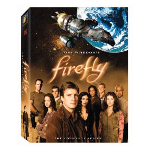 515NJKZ1XKL. SS500  TV on DVD: Firefly, Chuck, Glee, Philanthropist