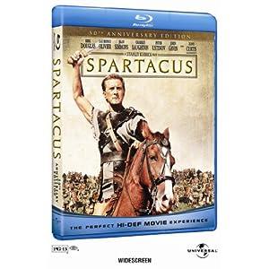 Spartacus 50ème anniversaire en Blu-ray!