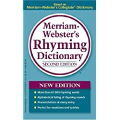 Merriam-Webster's Rhyming Dictionary