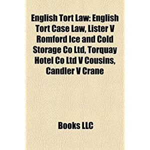 English Tort Law | RM.