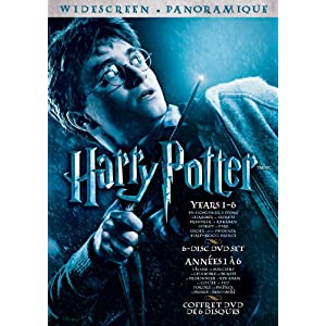 Coffret d'Harry Potter en DVD!