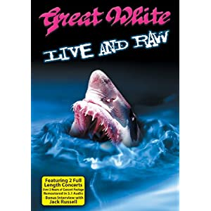 Great White - Live and Raw (DVD + CD)