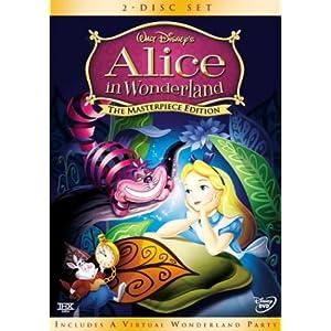 Alice aux pays des merveilles en DVD!