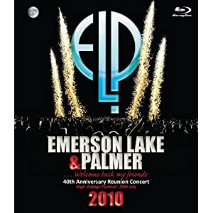 Emerson Lake & Palmer - 40th Anniversary Reunion Concert (DVD)