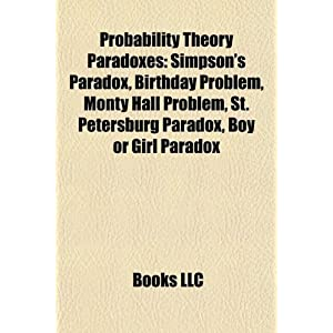 Probability Theory Paradoxes: Simpson's Paradox, Birthday Problem ...