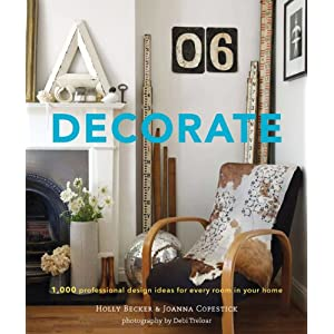 Decorate book, by Holly Becker and Joanna Copestick