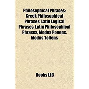 Latin Philosophical Phrases | RM.