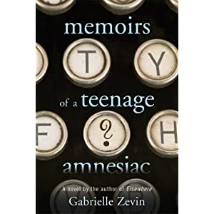 jeunebib memoirs of a teenage amnesiac by gabrielle zevin