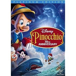 Pinocchio de Walt Disney 70e anniversaire!