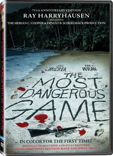 the most dangerous game - colour DVD @ amazon