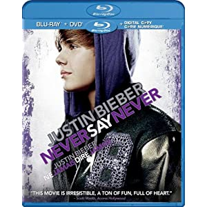61mi%2BxWWW3L. SL500 AA300  DVD Round Up   Week of May 9, 2011: Justin Bieber: Never Say Never, No Strings Attached, Blue Valentine, Unknown, Black Death