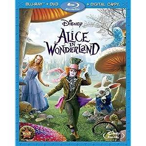 Alice au pays des merveilles en Blu-ray et DVD