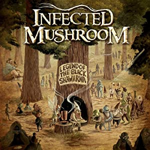 Infected Mushroom - The Legend of the Black Shawarma