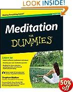 Meditation For Dummies, w/Audio CD