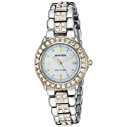 Armitron Women's 753689MPTT NOW Swarovski Crystal Accented Two-Tone Dress Watch