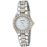 Armitron Women's 753689MPTT NOW Swarovski Crystal Accented Two-Tone Dress Watch